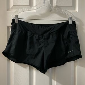 Nike Women's Black Dri-Fit Running Shorts size XL